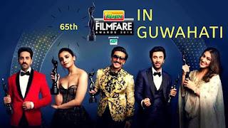 Filmfare Award 2020 in Guwahati, Assam on 15 February 2020