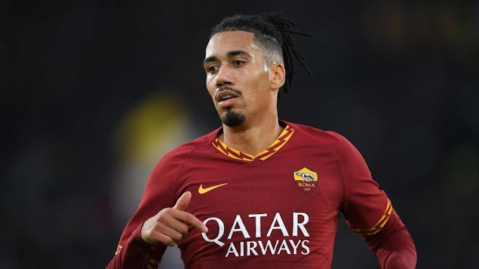 La Roma no podrá contar con Chris Smalling en la Europa League