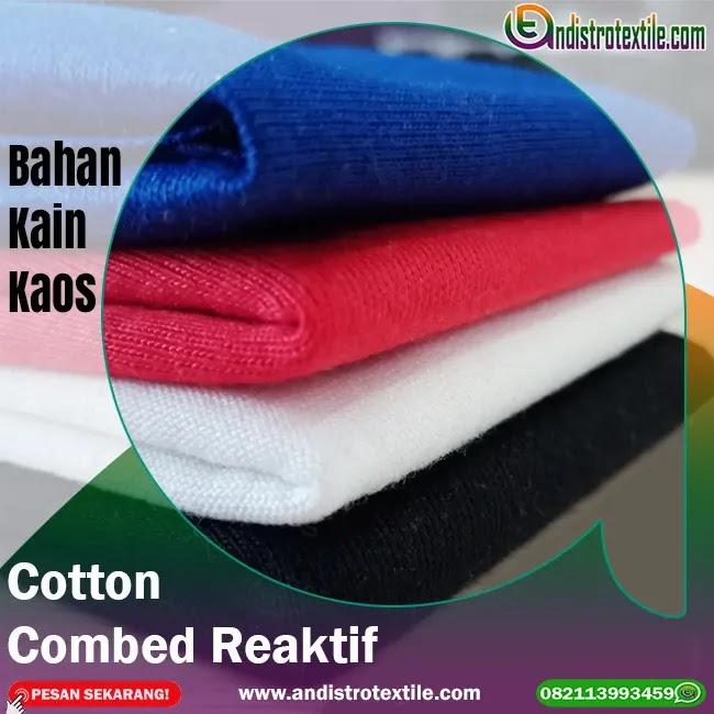Jual Bahan Kaos Distro 100% Cotton Combed 24s Ecer Kiloan