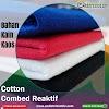 Jual Bahan Kaos Distro 100% Cotton Combed 24s Ecer Kiloan Plus Rib
