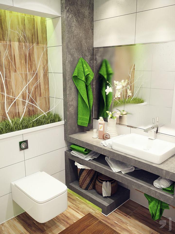 Cool Small Bathroom Design Ideas