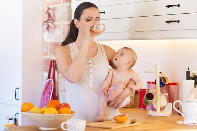 Dinh dưỡng cho các mẹ nuôi con nhỏ