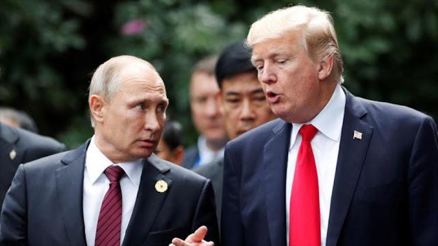 Trump quiere reunirse con Putin y discutir carrera armamentística