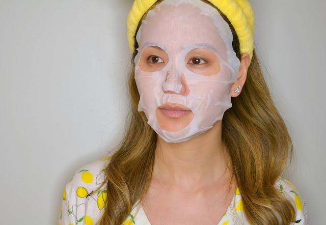 7th Heaven Superfood Sheet Mask Selfie