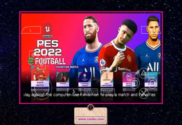 PES 2022 PPSSPP MOBILE ENGLISH Commentary Peter Drury New Kits & Transfer