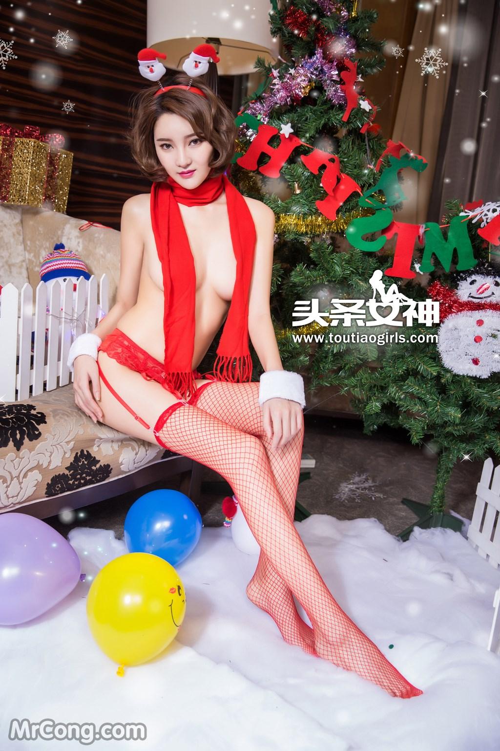 Image MrCong.com-TouTiao-2016-12-24-Wen-Xue-009 in post TouTiao 2016-12-24: Người mẫu Wen Xue (文雪) (38 ảnh)