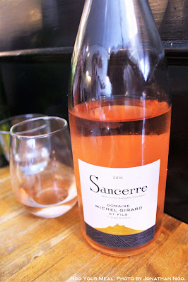 Rosé (Pinot Noir, Michel Girard, 2016, Sancerre, France) at Emily in Brooklyn, New York City