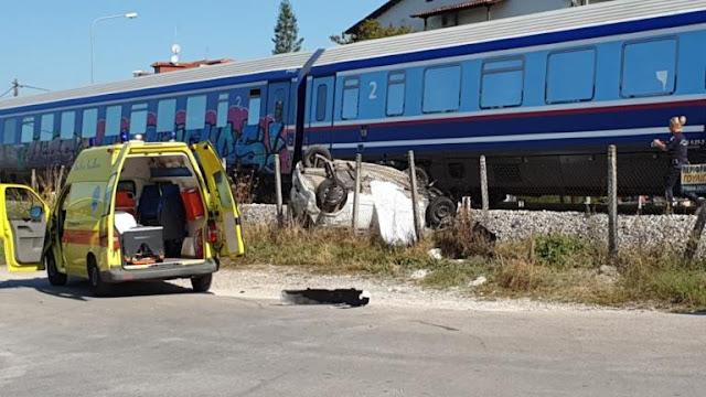 Τραγωδία στα Τρίκαλα! Μία νεκρή από σύγκρουση τρένου με ΙΧ - Πώς έγινε το τρομερό δυστύχημα