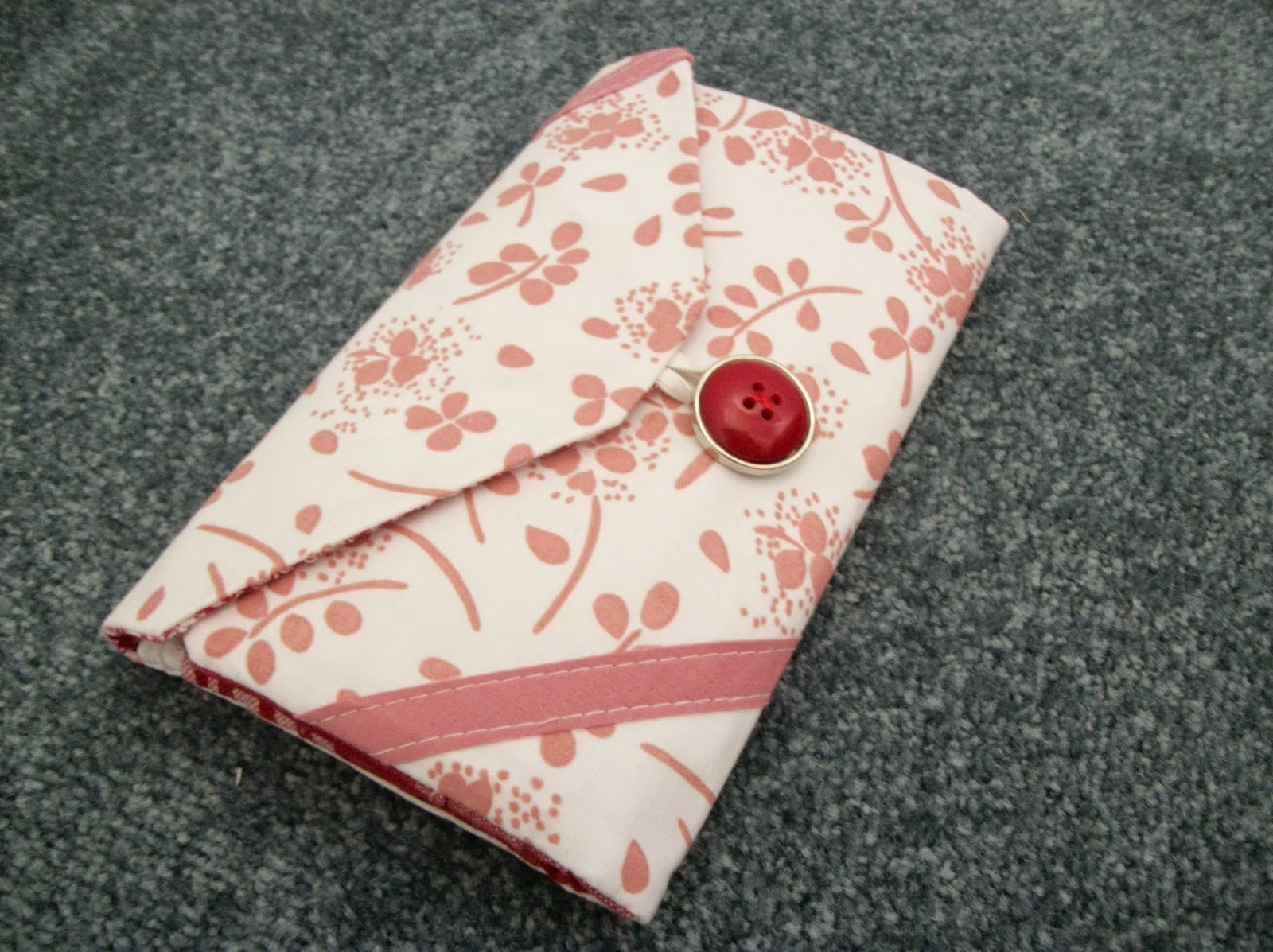 All Wrapped Up inspired wallet crafted by eSheep Designs