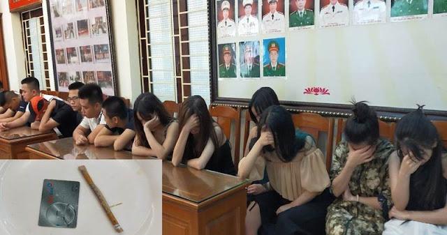 14 'nam thanh nữ tú' ở Thanh Hóa mở tiệc ma túy mừng sinh nhật