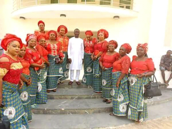 Abia women visit Uche Ogah, call for peace to reign in the state
