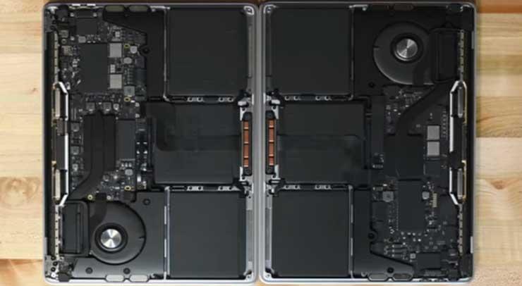 Baterai MacBook Air dan MacBook Pro M1
