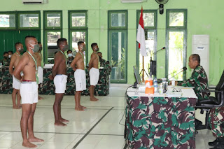 Pangdam XVII/Cenderawasih Pimpin Sidang Parade Calon Bintara PK TA 2021