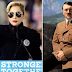 Twitter reacts after Lady Gaga wears bizarre costume likened to a Nazi Uniform to Clinton rally (Photos)