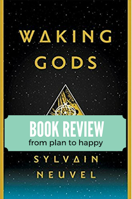 Some books can be described as a roller coaster, but I'd describe this one as a sprint. There was non stop, high anxiety pressure running through about three-quarters of Waking Gods by Sylvain Neuvel. It's perfect for fans of science fiction! #books #sciencefiction