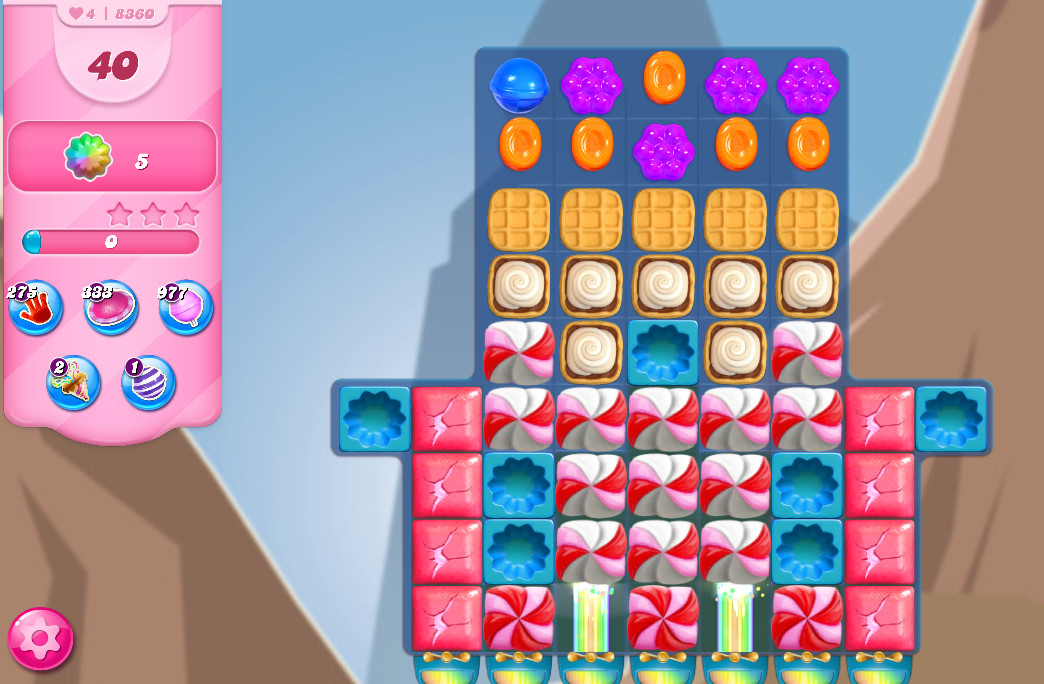 Candy Crush Saga level 8360