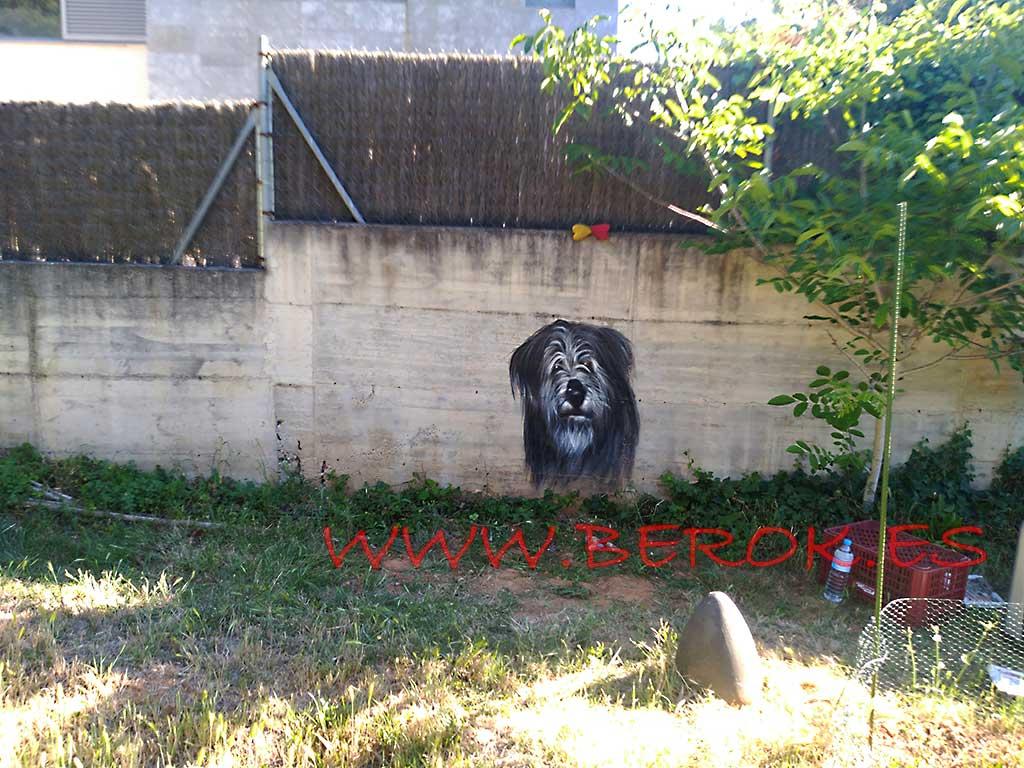 Berok graffiti mural profesional en barcelona murales for Murales decorativos