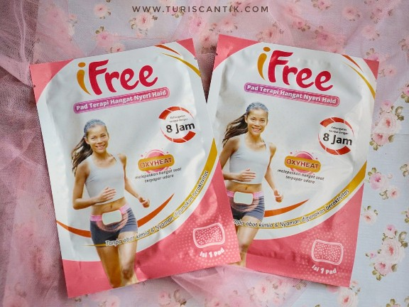 review ifree pad terapi hangat nyeri haid
