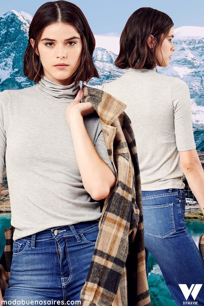 Jeans invierno 2021 moda mujer