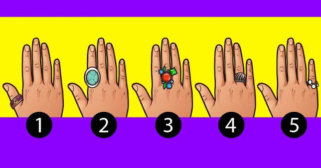 The Finger You Use To Wear Your Rings Gives Information About Your Personality