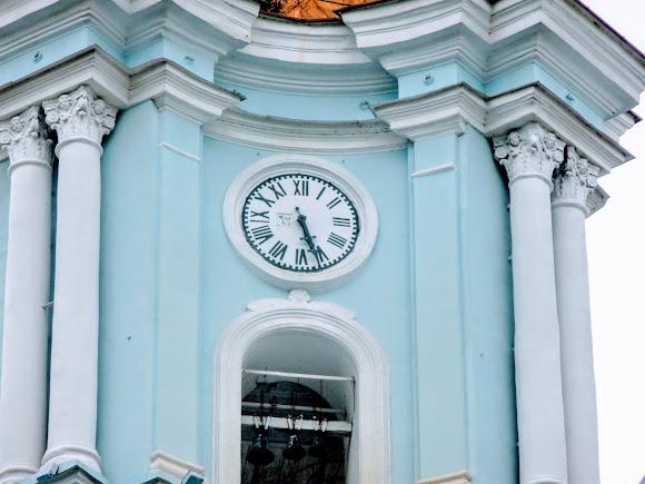 Суми. Спасо-Преображенський собор. 1782 р. Годинник. УПЦ МП