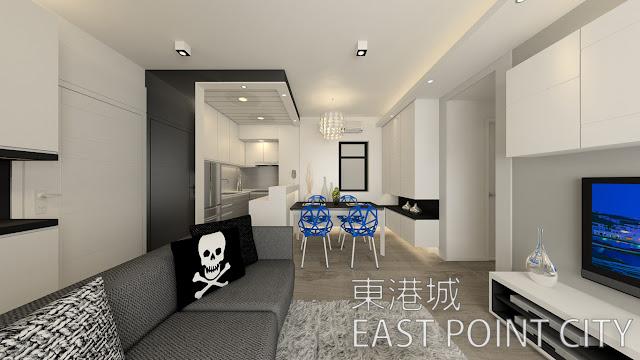 將軍澳 東港城室內設計單位(EAST POINT CITY)