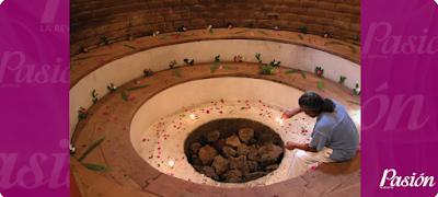 Baño Prehispánico, Temazcal