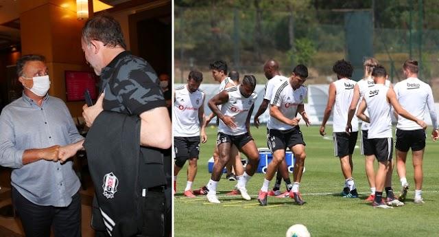 Beşiktaş'ta yönetim, takımı yalnız bırakmayacak