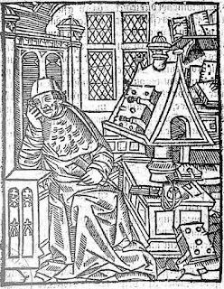 Grabado de Chrétien de Troyes