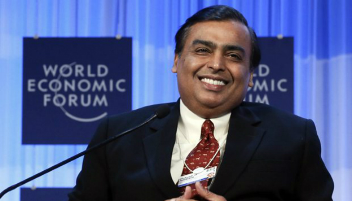 Who gave Jio the chance to launch, leaked Mukesh Ambani