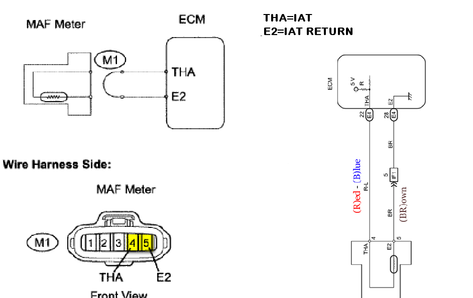 wiring diagram for mass air flow sensor