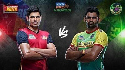 PKL 2019 Bangalore Bulls vs Patna Pirates || Home team win
