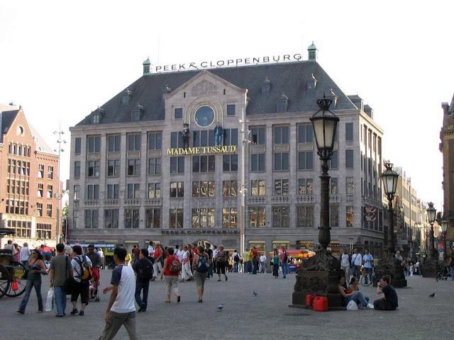 Visita ao Museu Madame Tussaud em Amsterdã
