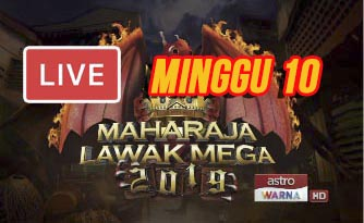 Live Streaming Maharaja Lawak Mega 3.1.2020 (MINGGU 10).