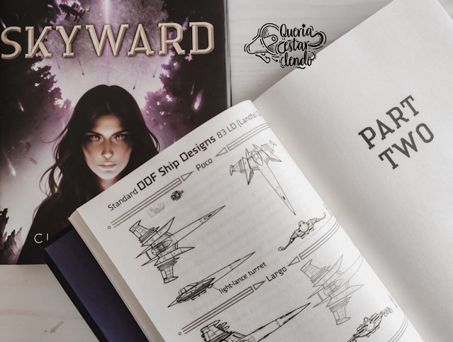 Li até a página 100 e... #120 - Skyward