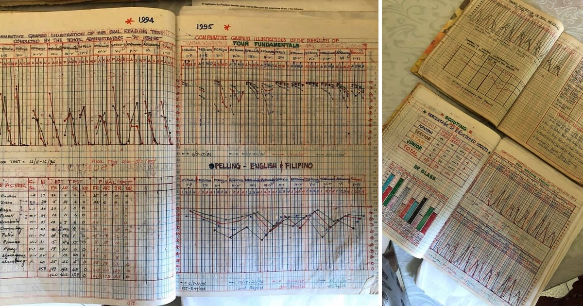 "Netizen finds handmade ""Excel"" sheets in dad's briefcase"