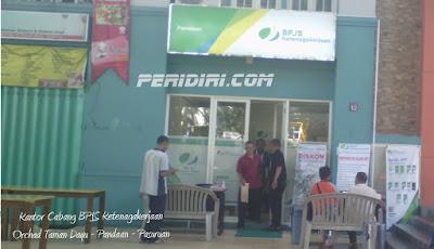 Kantor cabang BPJS Ketenagakerjaan Pandaan