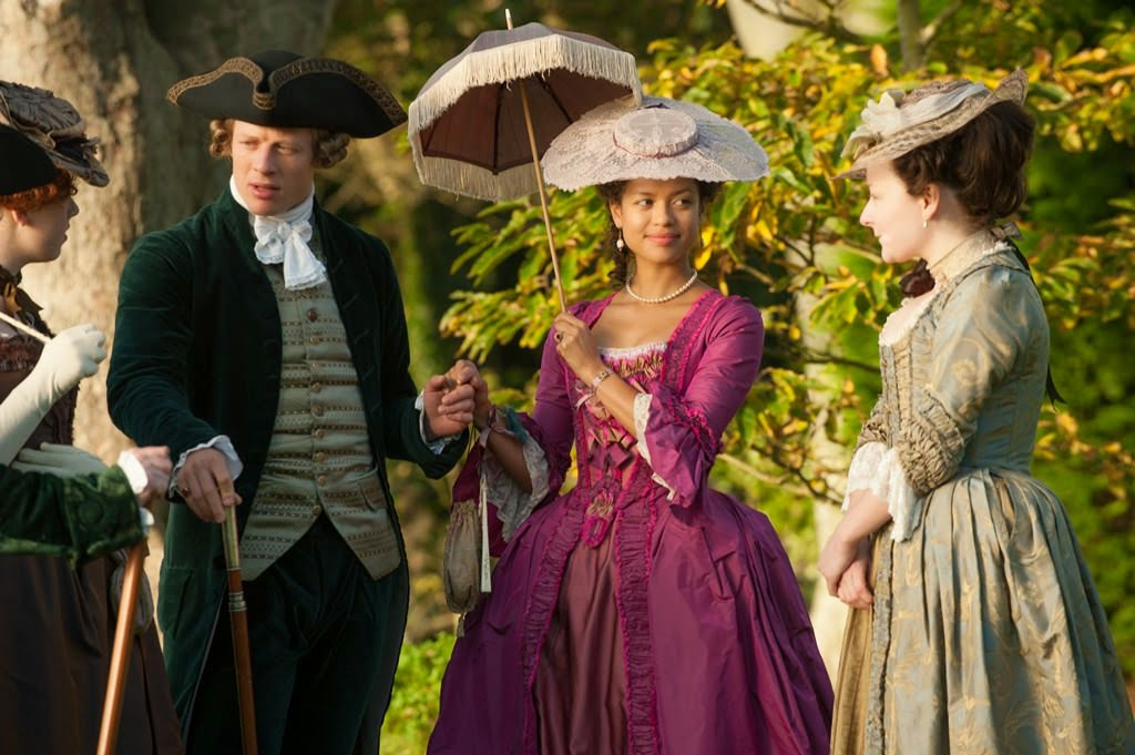 belle james norton gugu mbatha-raw