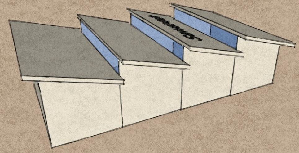 Monoslope Roof Amp Monoslope Project Profile Use Indoor