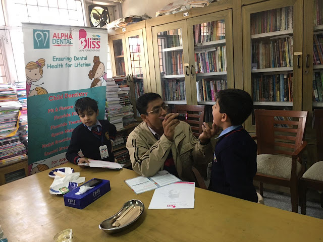 Paras Bliss Hospital, Panchkula Organizes Pediatrics & Dental Check Up Camp for School children