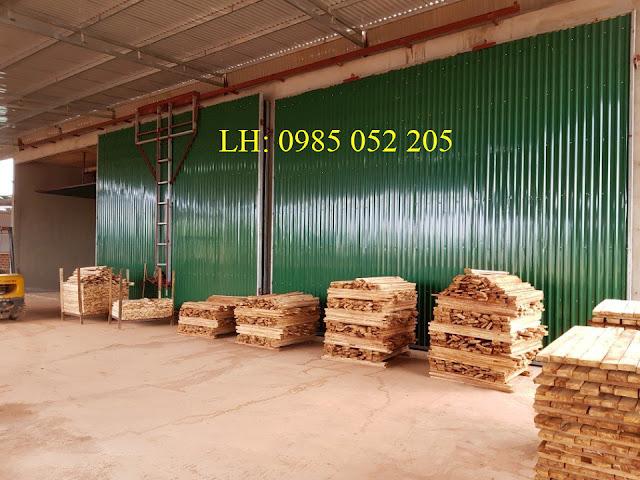Lò sấy gỗ