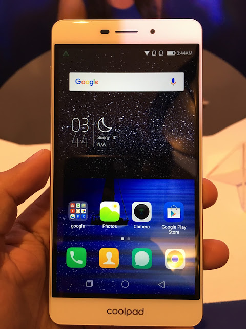 Coolpad launches Coolpad Mega with 5.5 inch display, 8 MP front camera in India for Rs. 6999