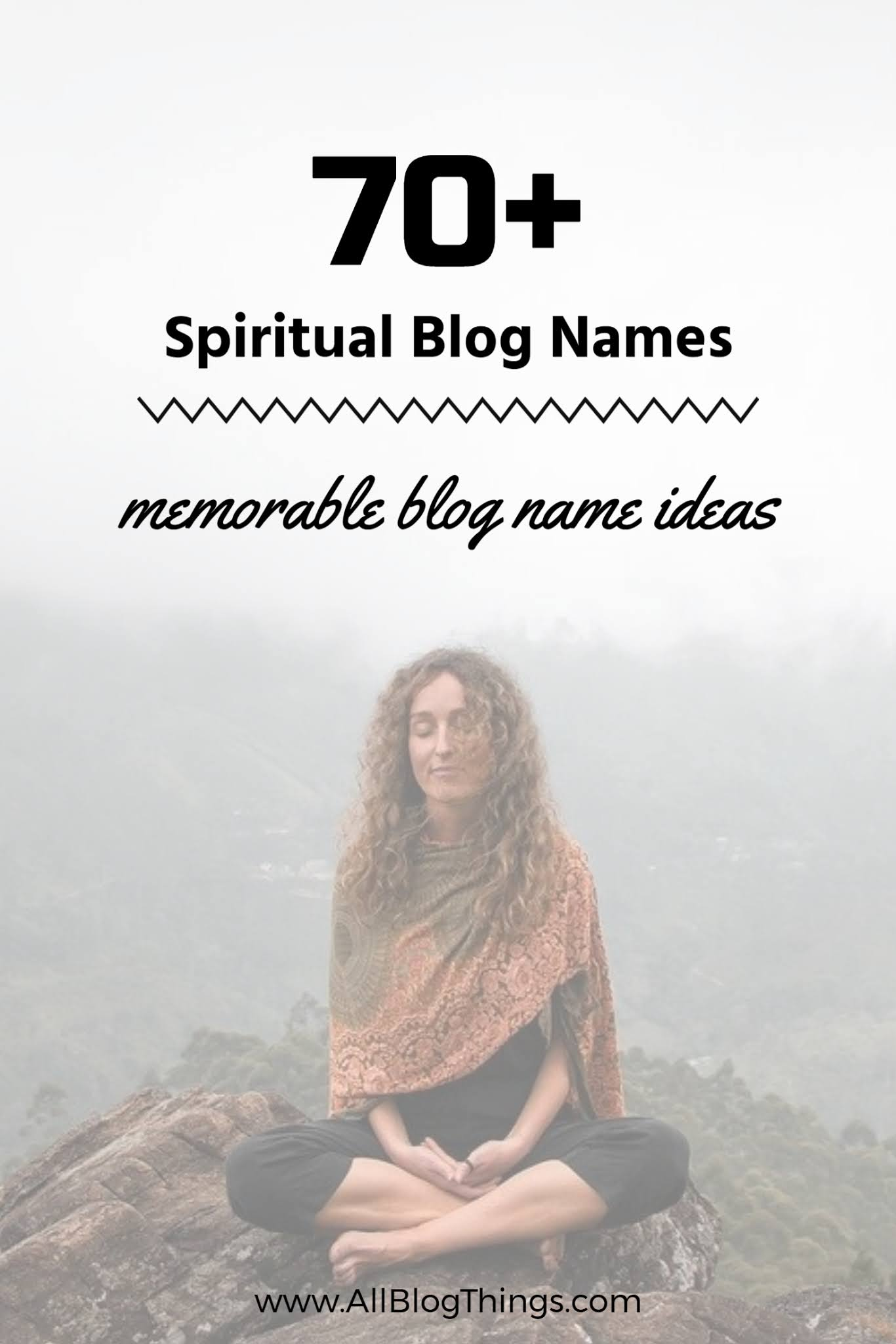 70+ Memorable Spiritual Blog Names