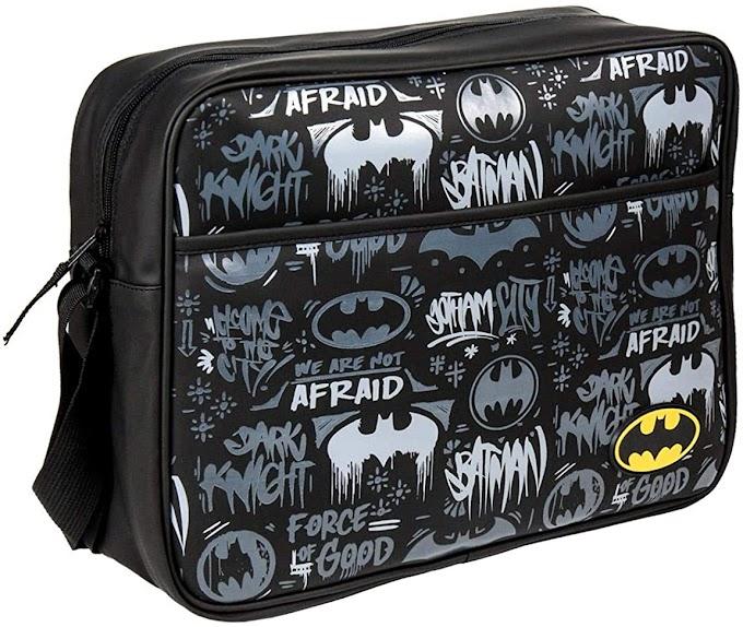 Magnífico bolso bandolera de Batman.