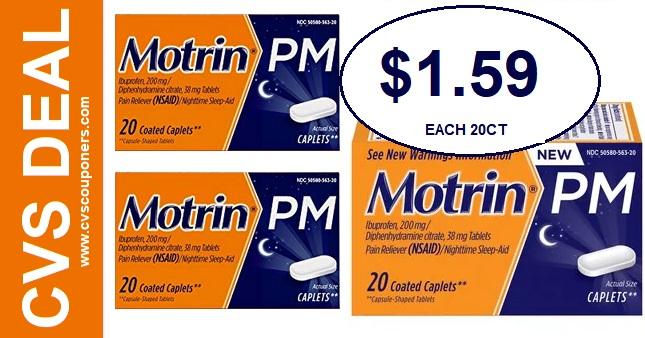Motrin CVS Coupon Deal 1.59