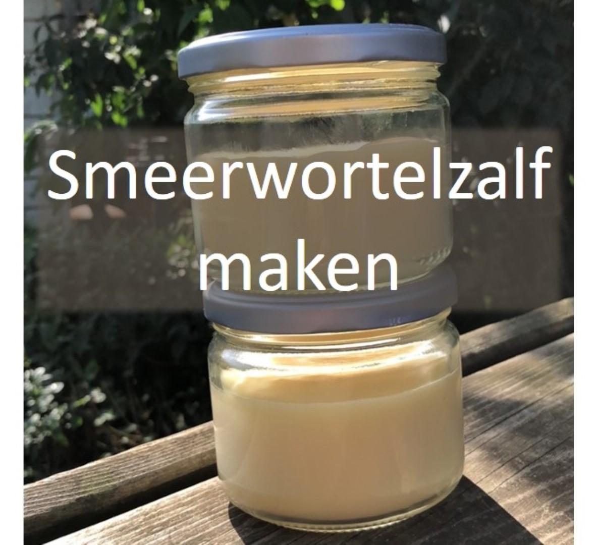 smeerwortelzalf maken recept moestuin smeerwortel
