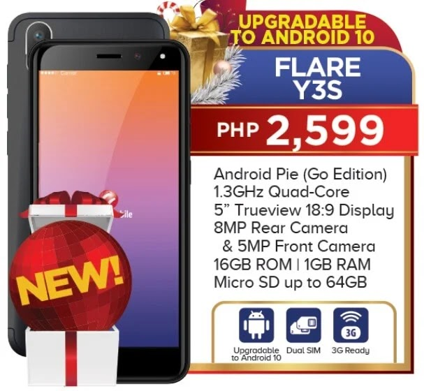 Cherry Mobile Flare Y3S Specs, Price, Availability