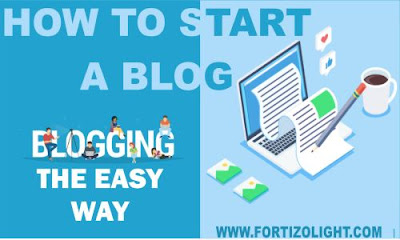 How to start a blog, blogging made easy. Blogging tips, blog tricks, blogger, free blog