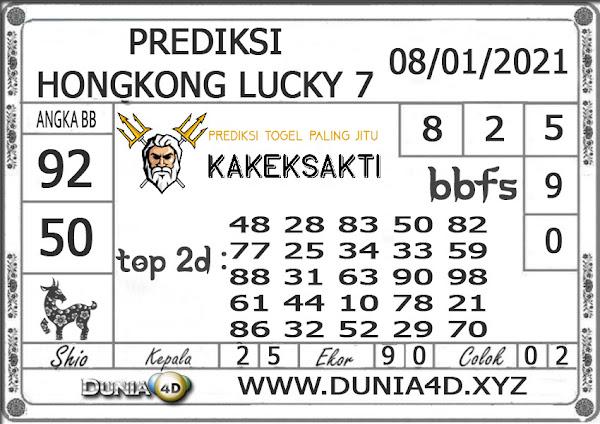 Prediksi Togel HONGKONG LUCKY 7 DUNIA4D 08 JANUARI 2021