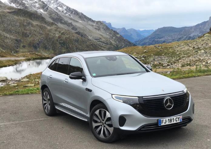سعر ومواصفات سيارة Mercedes EQC